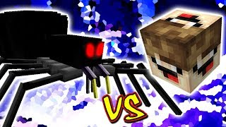 ARANHA VIUVA NEGRA VS. LUCKY BLOCK DESTRUIDOR (MINECRAFT LUCKY BLOCK CHALLENGE BLACK WIDOW)