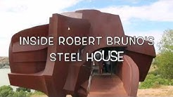 A Walk Through Robert Bruno's Steel House in Ransom Canyon