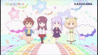 TVアニメ「NEW GAME!!」エンディングテーマ「JUMPin' JUMP UP!!!!」
