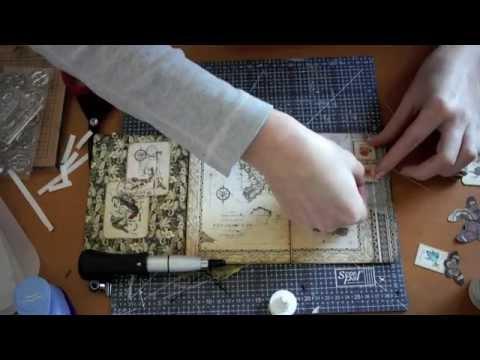 видео: vintage card - Винтажная открытка
