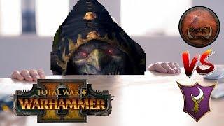 Dark Elves vs Greenskins | SNEAKY SCHEMES & SKARSNIK - Total War Warhammer 2