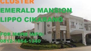 EMERALD MANSION CLUSTER. LIPPO CIKARANG