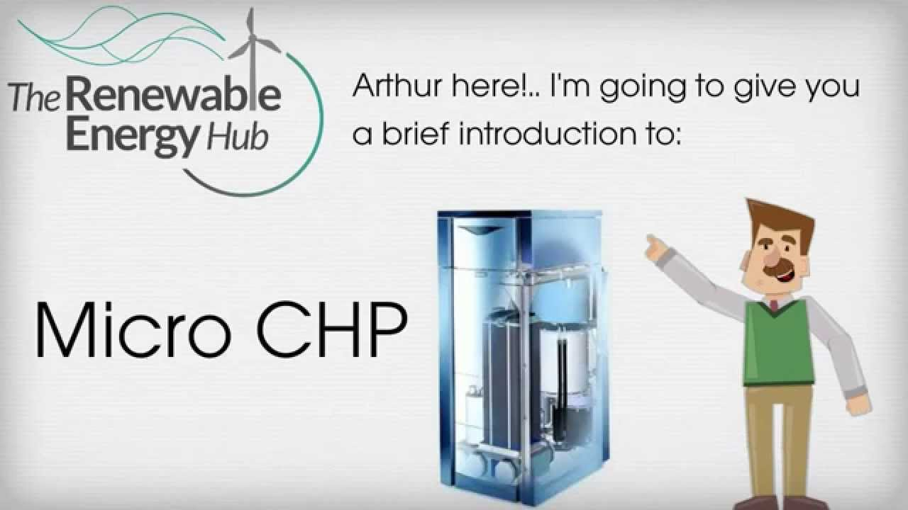 micro chp boiler information the renewable energy hub youtube