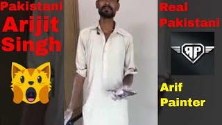 Pakistani Painter Viral Video _ Awesome Song _ Channa Mereya