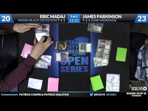SCGDET - Standard - Round 10b - Eric Madaj vs James Parkinson