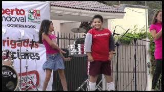 Simpático video del concurso de baile para niños en los Festivales Artísticos de Campaña