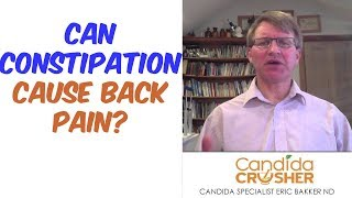 Can Constipation Cause Back Pain On One Side?