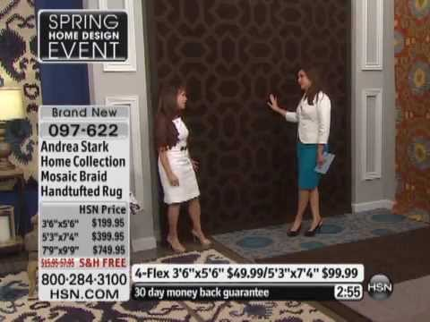 Andrea Stark Home Collection Mosaic Braid Rug Youtube