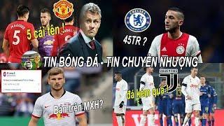 💥Tin bóng đá 13/02| MU xây dựng đội hình quanh 5 cái tên? Chi 45TR Chelsea có sao Ajax