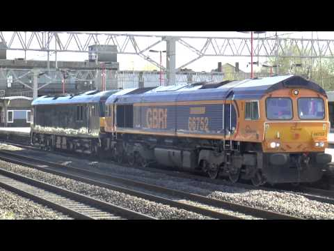 Stafford Freight Trains, Ft Class 31-37-50-57-66-70-86-90-92, 14th April 2015