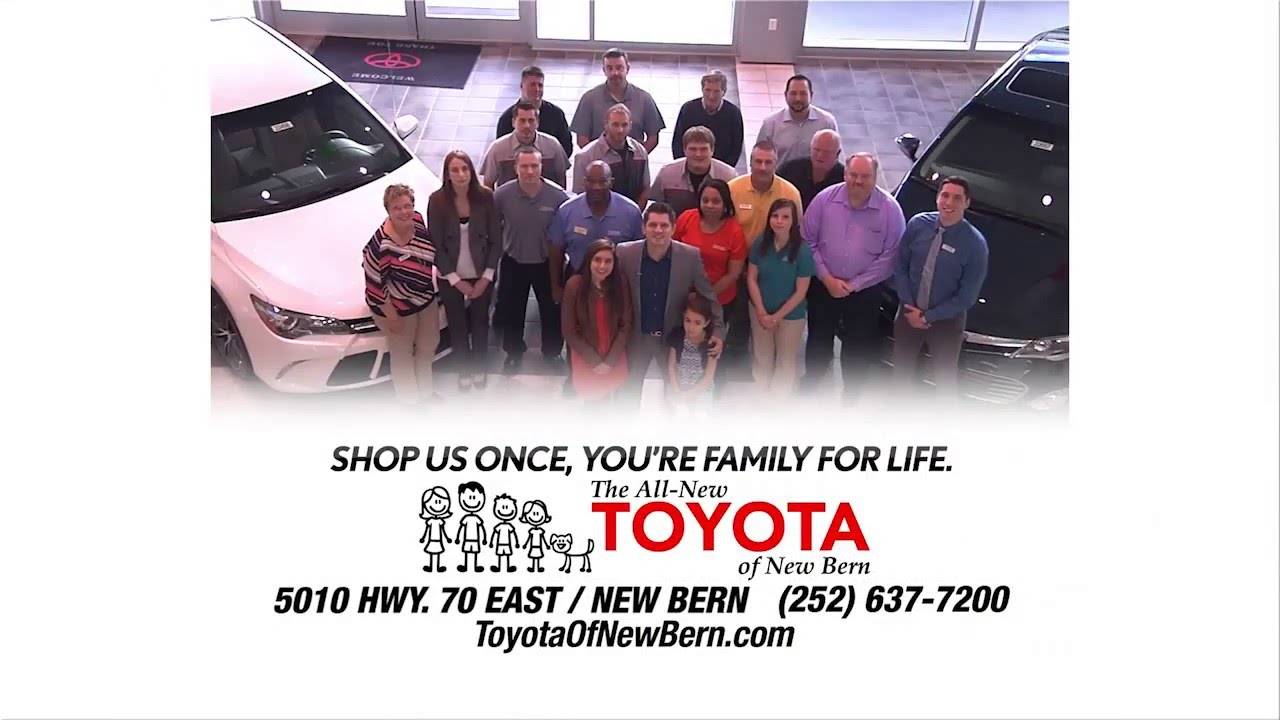 Toyota Of New Bern >> Toyota Of New Bern Big Spring Sales Event Youtube