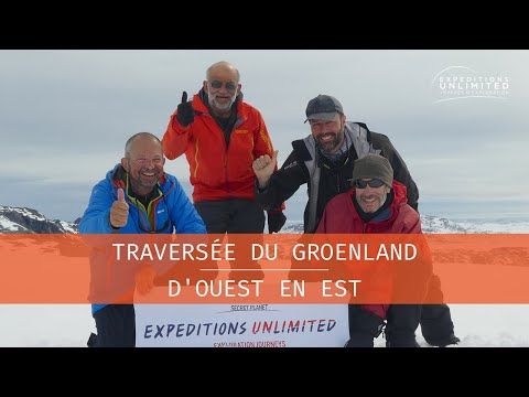 EXPEDITIONS UNLIMITED : Traversée du Groenland 2017