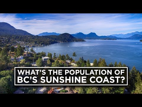 What's the population of the Sunshine Coast?