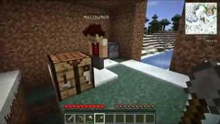 [ч. 02] Minecraft с Лейном и Малибу - Дом из земли
