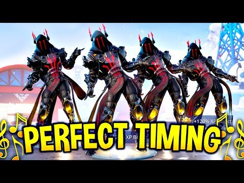 We timed Fortnite Dances & Emotes Perfectly and It looked AMAZING Fortnite Battle Royale