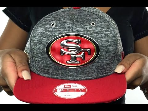 49ers  2016 NFL DRAFT SNAPBACK  Hat by New Era - YouTube 3474c50bbd4