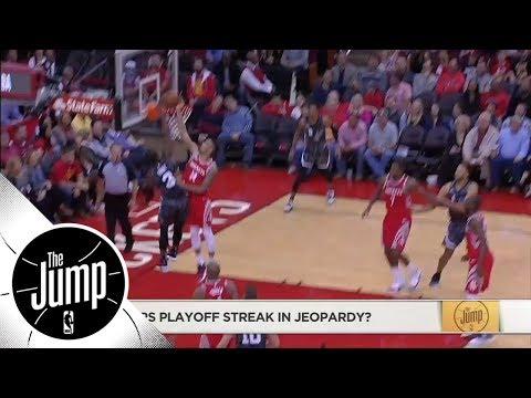 Spurs' playoff streak in jeopardy? | The Jump | ESPN