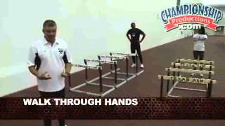 Texas A&M Track & Field Series - Drills and Progressions for Championship Sprint Hurdles