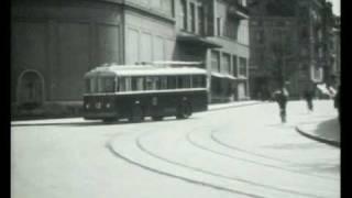 SAURER BBC Winterthur / Der erste Trolleybus 1938