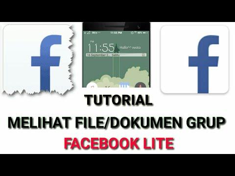 CARA LIHAT DOKUMEN/FILE GRUP DI FACEBOOK LITE