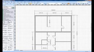 рисуем план дома в Microsoft Office Visio
