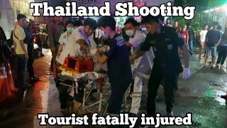 Tourists fatally injured in Bangkok mall shooting