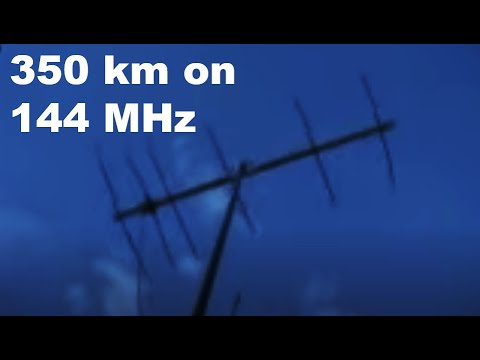 144 MHz beacons received from Melbourne