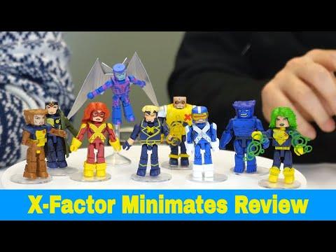 Marvel Minimates série 78 X-Factor Havok