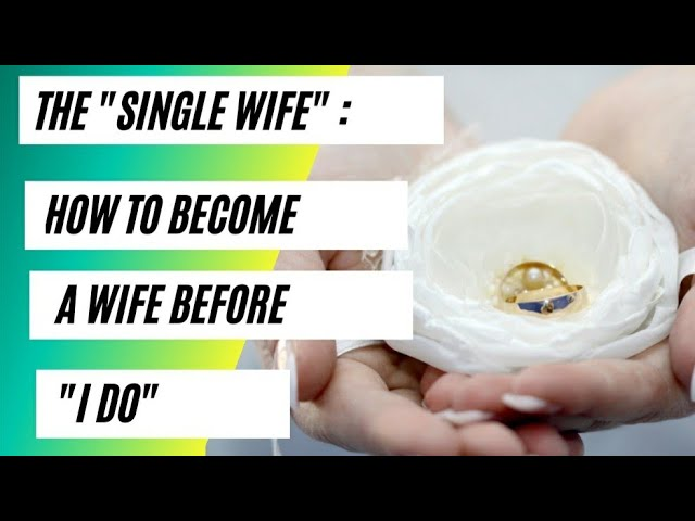 How To Prepare Yourself For Marriage