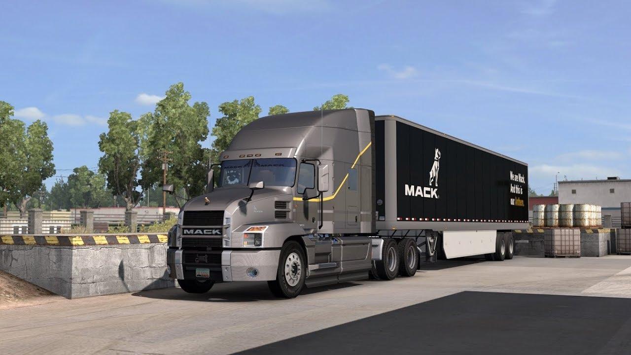 Mack MP8 engine sound for the Anthem - SCS Software