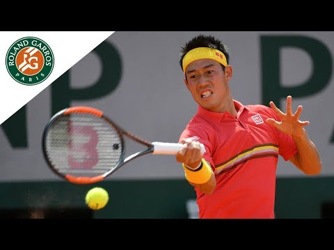 Kei Nishikori vs Maxime Janvie french open