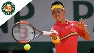 Kei Nishikori vs Maxime Janvier - Round 1 Highlights | Roland-Garros 2018