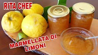 Marmellata Di Limoni Bio Di Rita Chef - Facile E Veloce.