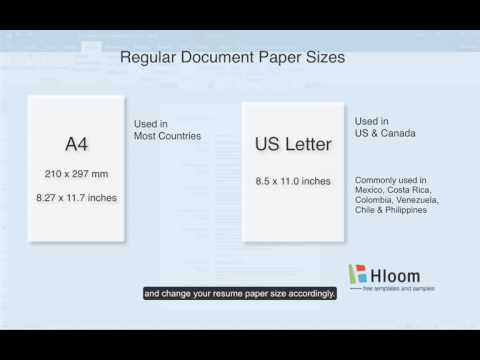 How to customize CV Resume Template in MS Word - Infographic#3 Resume