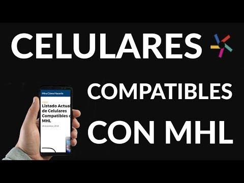 Listado Actualizado de Móviles Compatibles con MHL