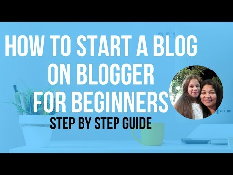 How To Start A Blog On Blogger.com For...