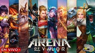🔴Jugando Ranked - Modos Torneos - Arena of Valor - Tratando subir de Rango