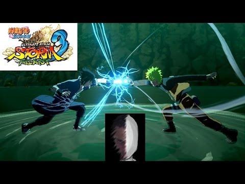 NARUTO SHIPPUDEN Ultimate Ninja STORM 3 Full Burst - Naruto VS Sasuke - Perfect S |