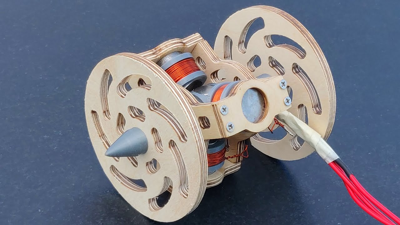 Making Powerful RC Car Back Wheel and Motor