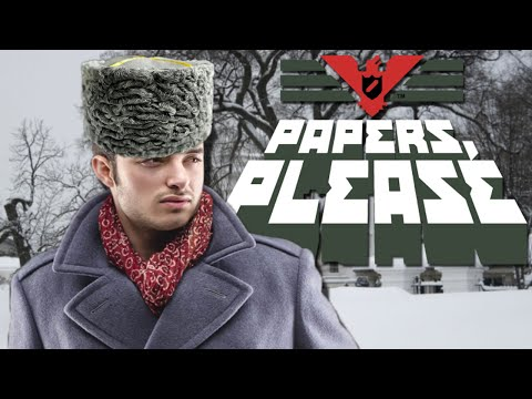 FULL BODY SEARCH! | Papers, Please! - Part 3