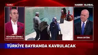 Bayram'da İstanbul'a Yağmur Geliyor! Bünyamin Sürmeli'den Bayramın hava durumunu