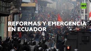 Estado de excepción: ¿qué está pasando en Ecuador y por qué? | RT Play
