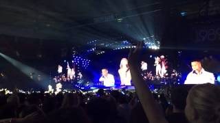 Taylor Swift Nico & Vinz - Am I Wrong - 1989 World Tour - Vancouver