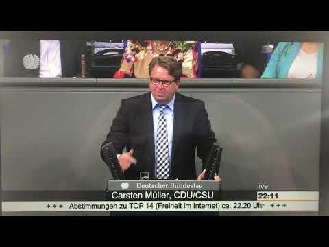 Carsten Müller (CDU) bewirbt sich für die