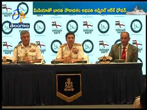 Naval Chief RK Dhowan Speaks On International Fleet Review With Media