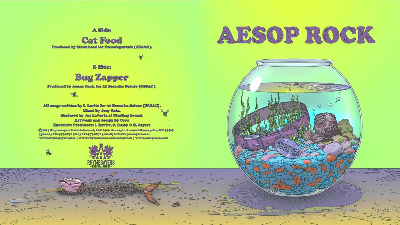 Cat Food Aesop Rock Lyrics