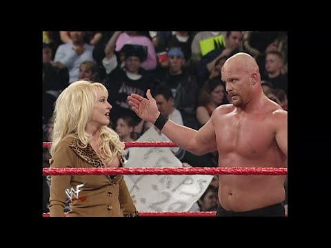"""Stone Cold"" Steve Austin & The Rock Vs. Triple H & Kurt Angle: Raw, March 5, 2001"