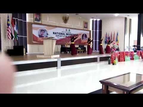Tari Layar Battuta di MUFI 4 JDFI UIN Maliki Malang