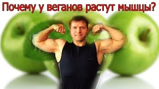 Почему у веганов растут мышцы?