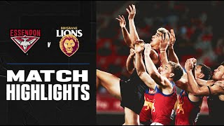 Essendon V Brisbane Lions Highlights | Round 9, 2020 | Afl
